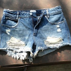 RVCA shorts size 26. Worn only three times.
